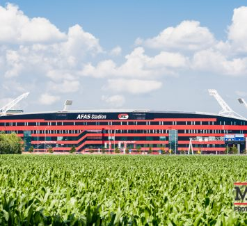 AZ stadion - warmtewerende glasfolie