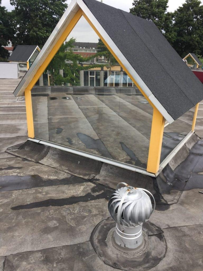 LLumar warmtewerende glasfolie bij School de Draaimolen te Barendracht