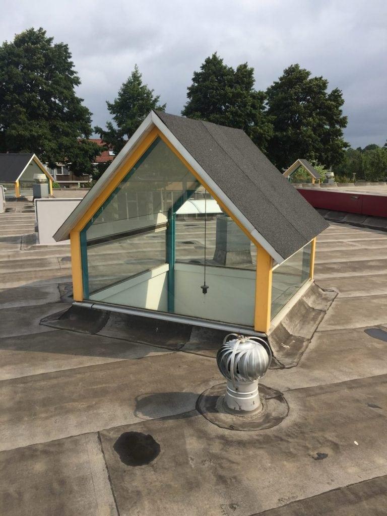 School de Draaimolen te Barendracht - Zonder glasfolie