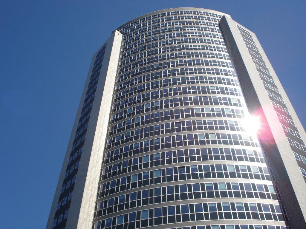 Crystal Tower - warmtewerende glasfolie