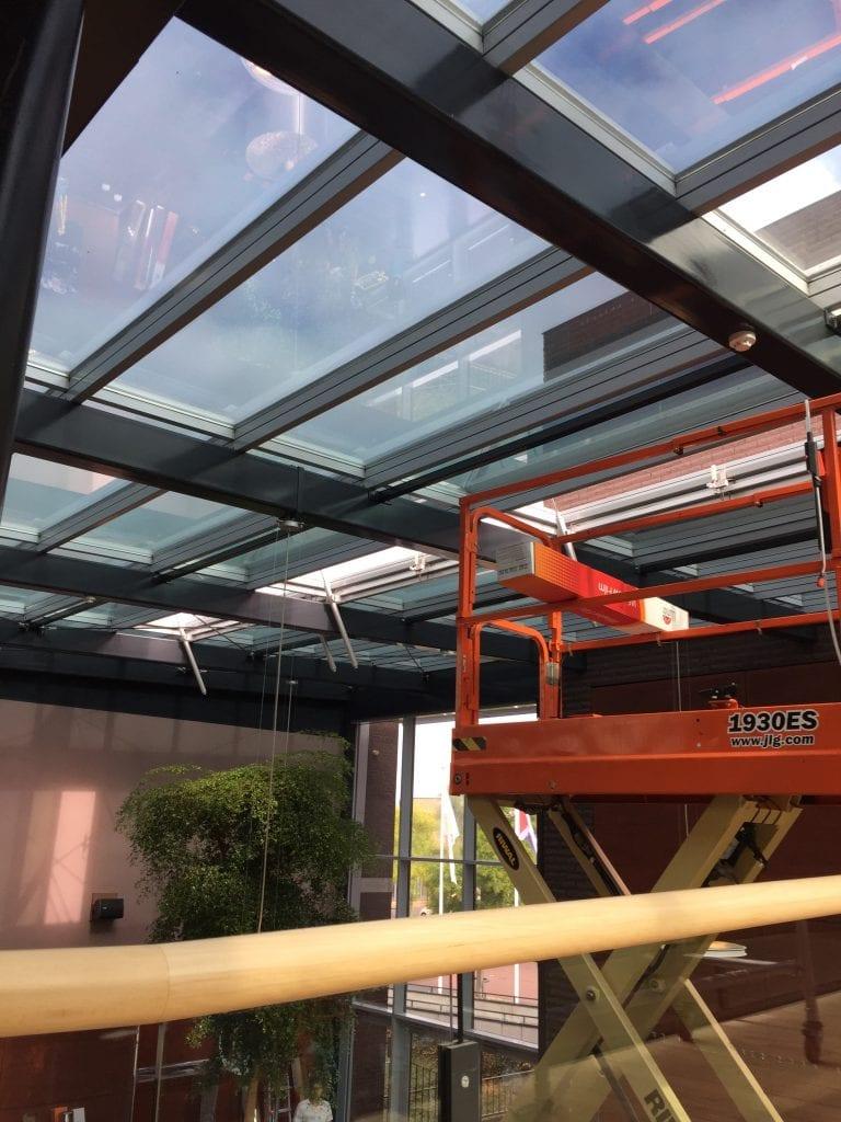 LLumar warmtewerende glasfolie - Gemeentehuis Echt-Susteren