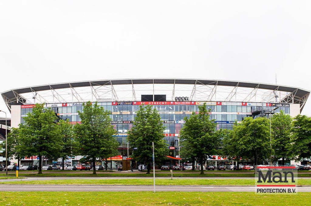 FC Utrecht stadion - inbraakvertagende glasfolie