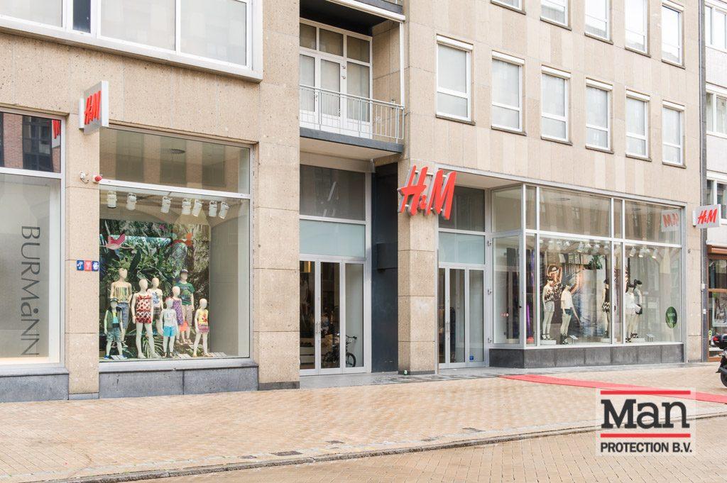 LLumar UV-werende glasfolie - H&M Groningen