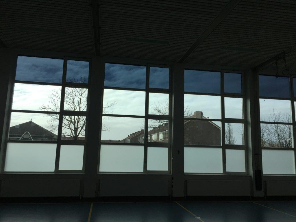 LLumar warmte- en lichtwerende glasfolie - Sportschool Sommelsdijk