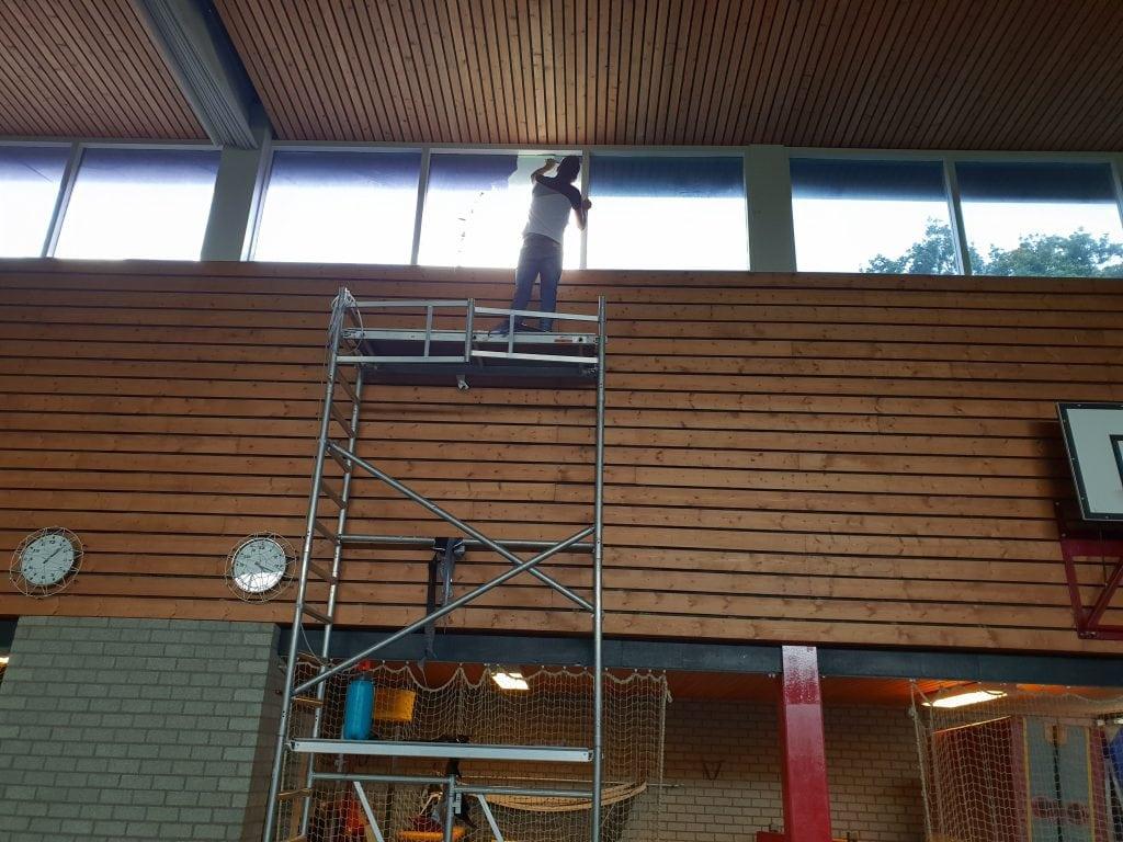 LLumar warmte- en lichtwerende glasfolie - Sportcentrum Leek