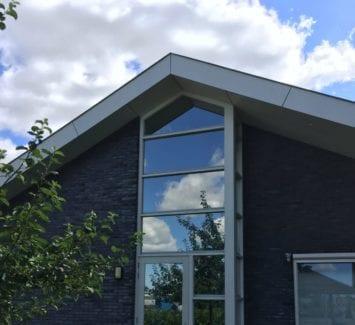 LLumar warmtewerende glasfolie - WarmThuis Klein Suydermeer te Zuidermeer