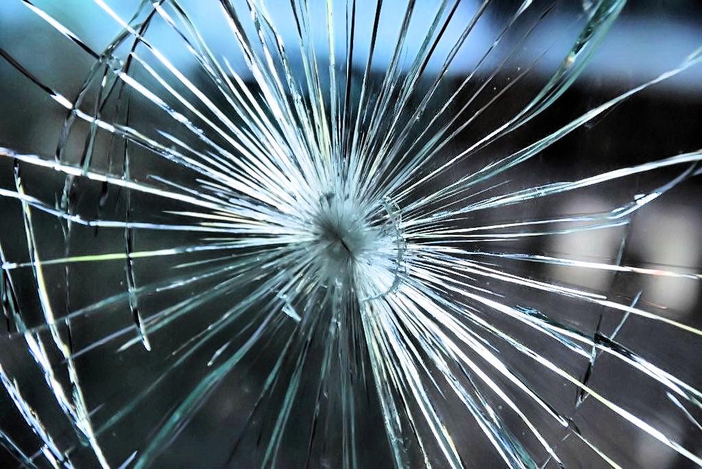 Veiligheidsfolie - glasbreuk